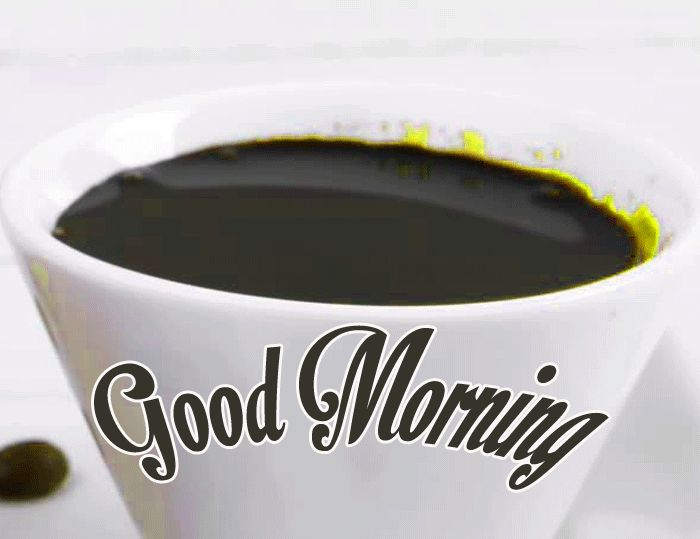 gud mrng with coffee images