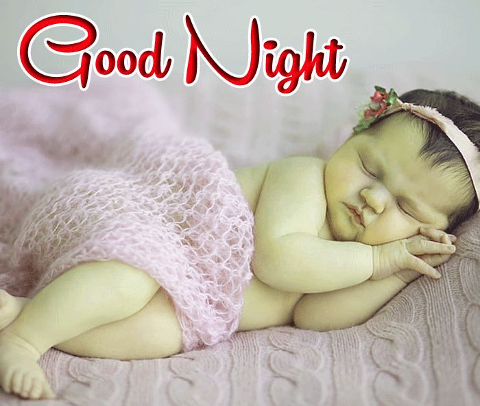 Cute Baby Good Night photo for facebook hd download