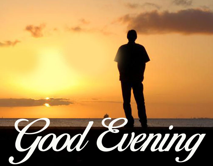 Good Evening alone images with facebook hd