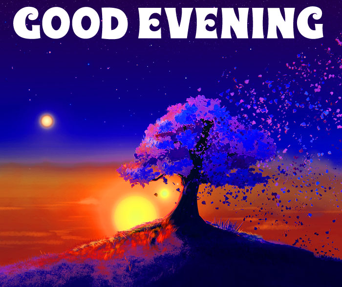 Good Evening alone tree download