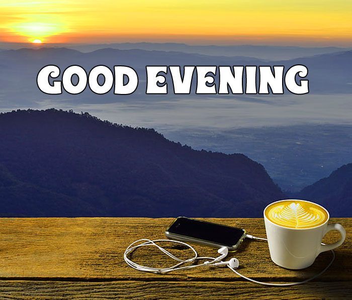 Good Evening dawn coffee images hd download