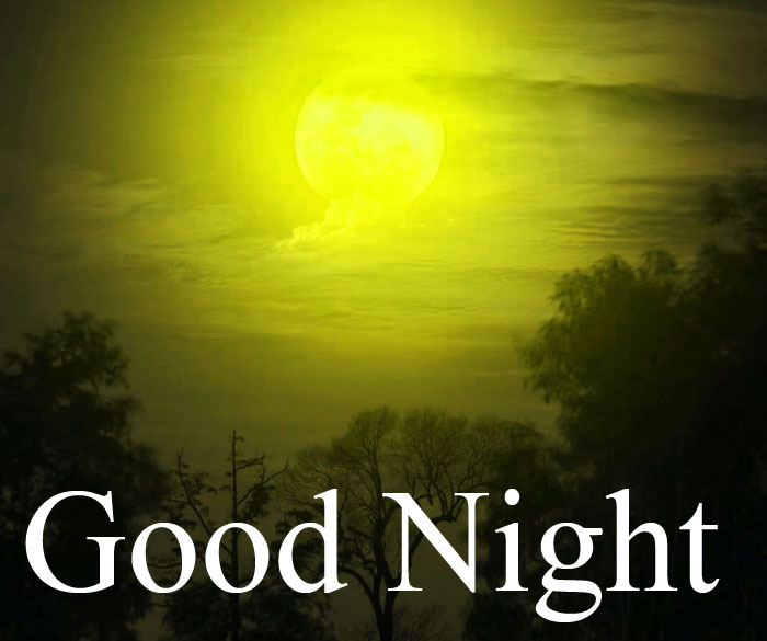 Good Night moon light images hd download