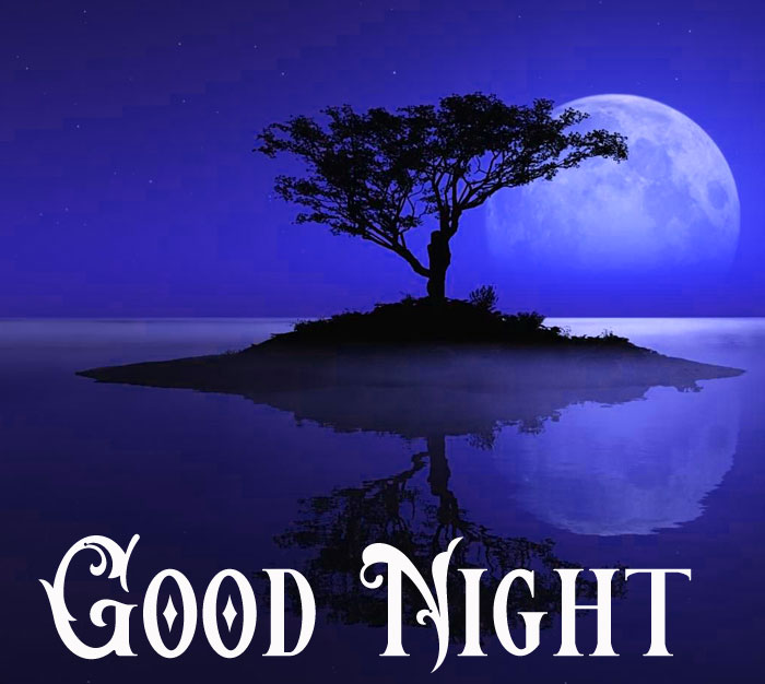 Good Night nature and moon photo download