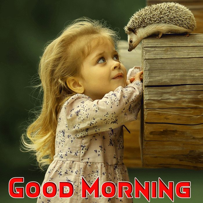 cute baby good morning images hd