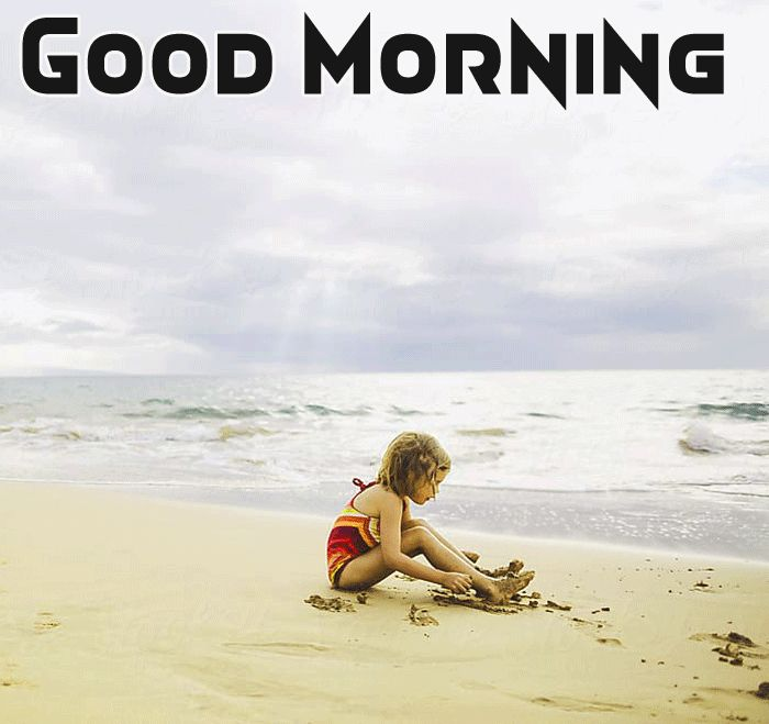 cute baby images with good morning