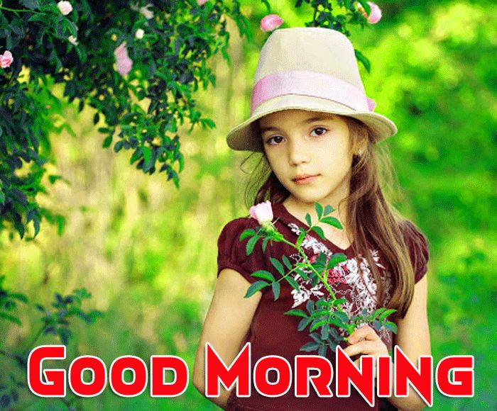 cute baby photos with good morning messages