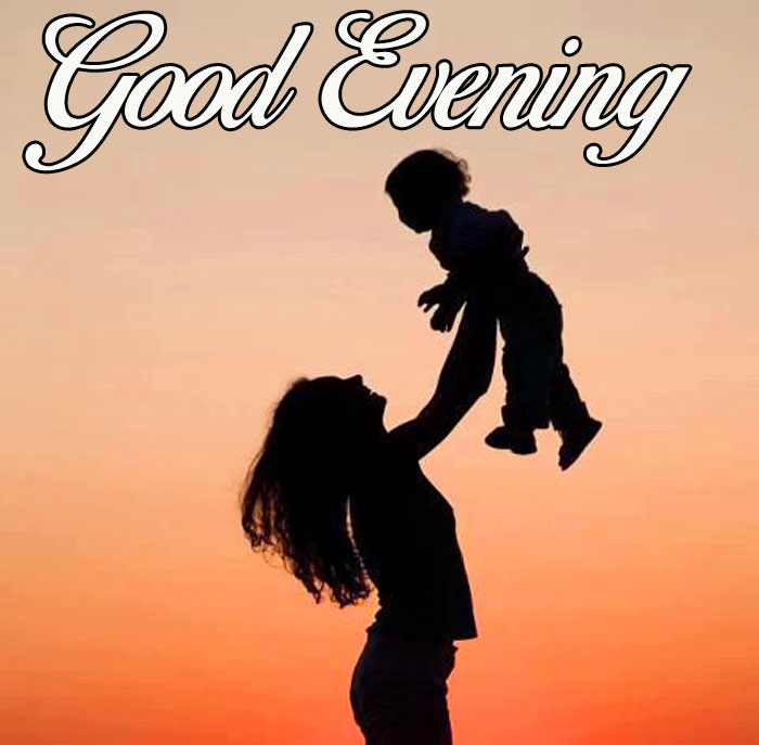 cute happy Good Evening picture hd