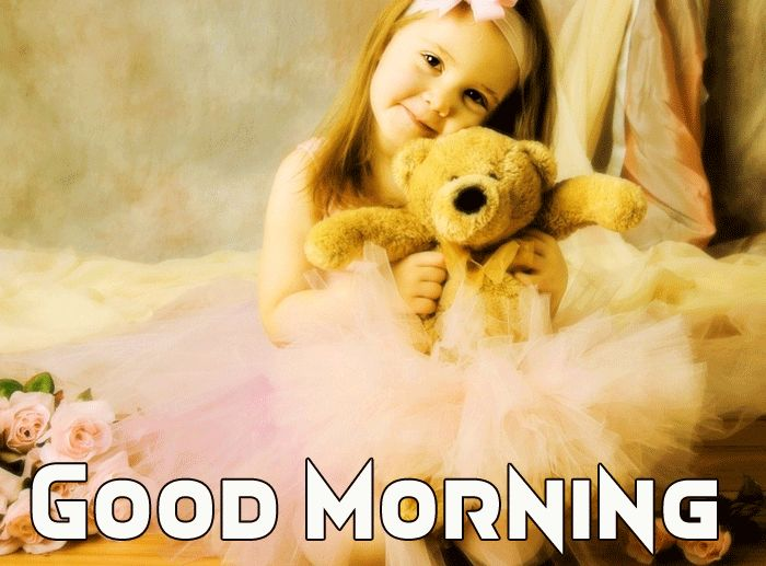 good morning pic cute baby