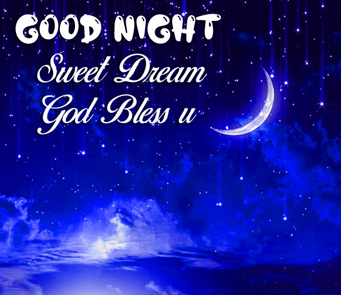 clouds Good Nihgt Sweet Dream God Bless You blue images hd