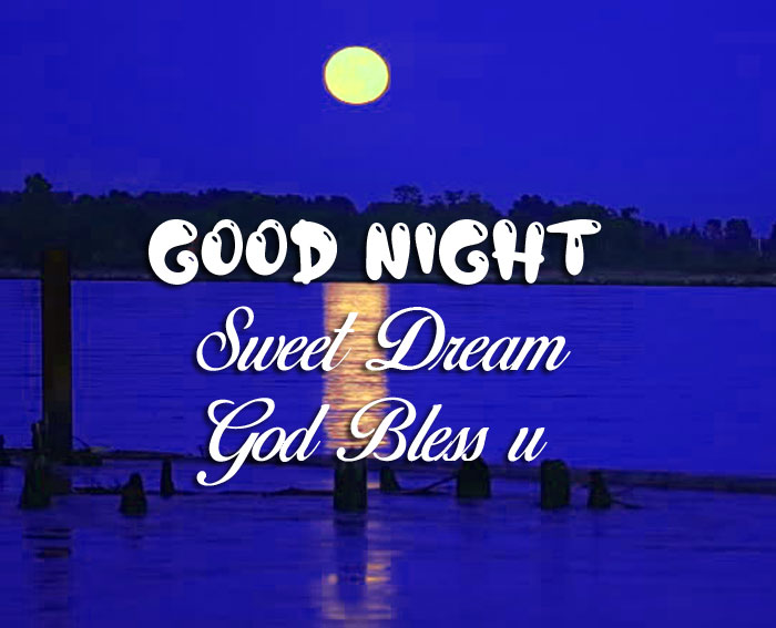 cute small moon Good Nihgt Sweet Dream God Bless You images