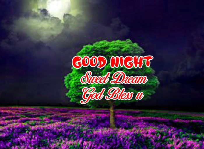 green tree Good Nihgt Sweet Dream God Bless You images