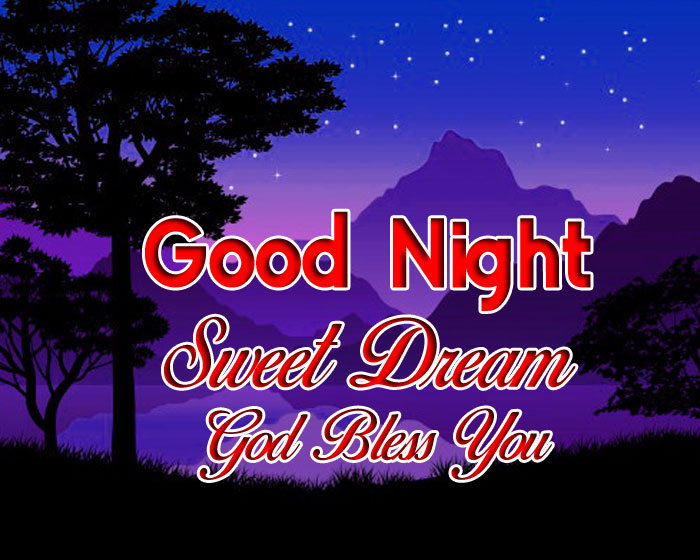 latest Good Nihgt Sweet Dream God Bless You nature images