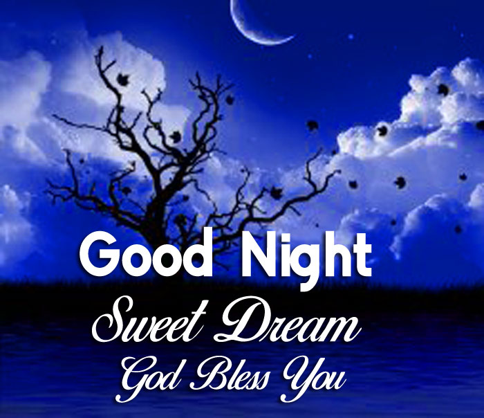 latest blue moon Good Nihgt Sweet Dream God Bless You tree images