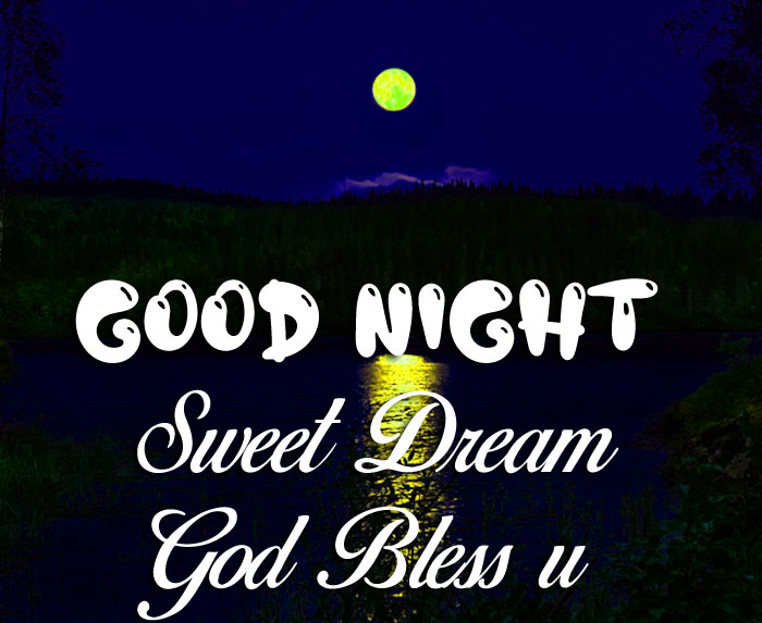 latest cute moon Good Nihgt Sweet Dream God Bless You images