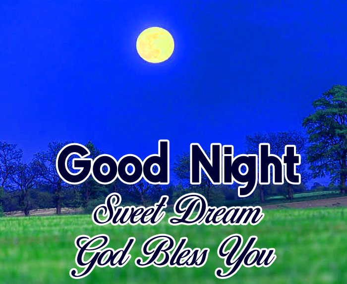 moon fields Good Nihgt Sweet Dream God Bless You images hd