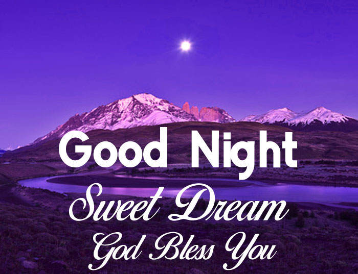 mountain cute moon Good Nihgt Sweet Dream God Bless You images