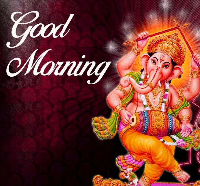 new Good Morning Ganesha images for whatsapp hd download