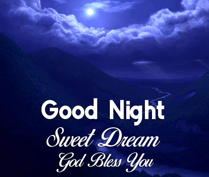 new Good Nihgt Sweet Dream God Bless You cute moon images