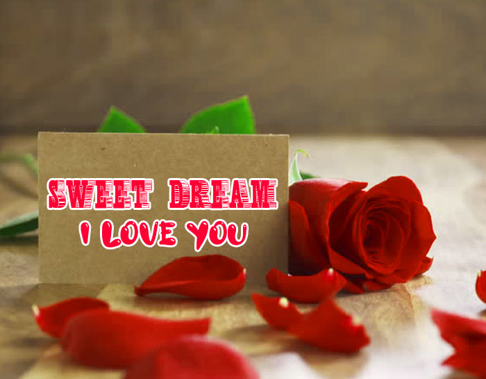 rose and heart Sweet Dream I Love You images