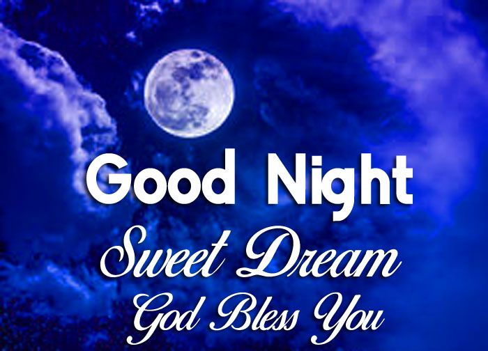 sky Good Nihgt Sweet Dream God Bless You blue moon images