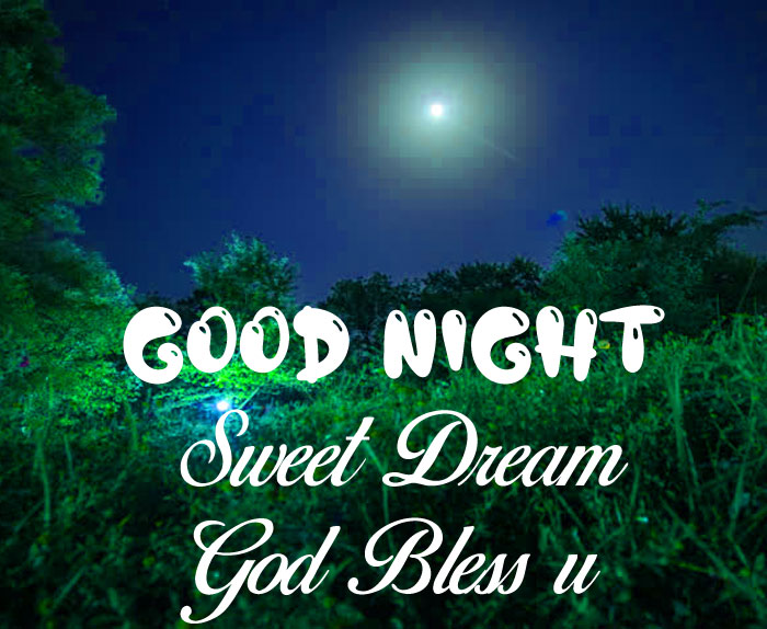 small moon Good Nihgt Sweet Dream God Bless You photo