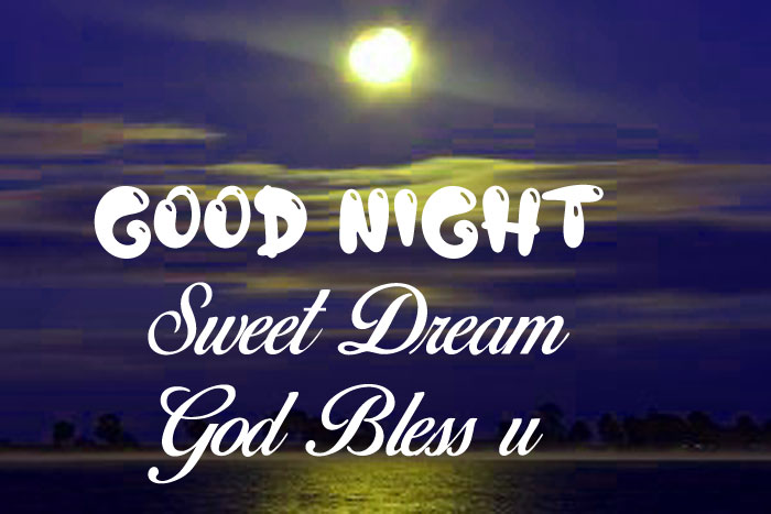 water Good Nihgt Sweet Dream God Bless You moon images
