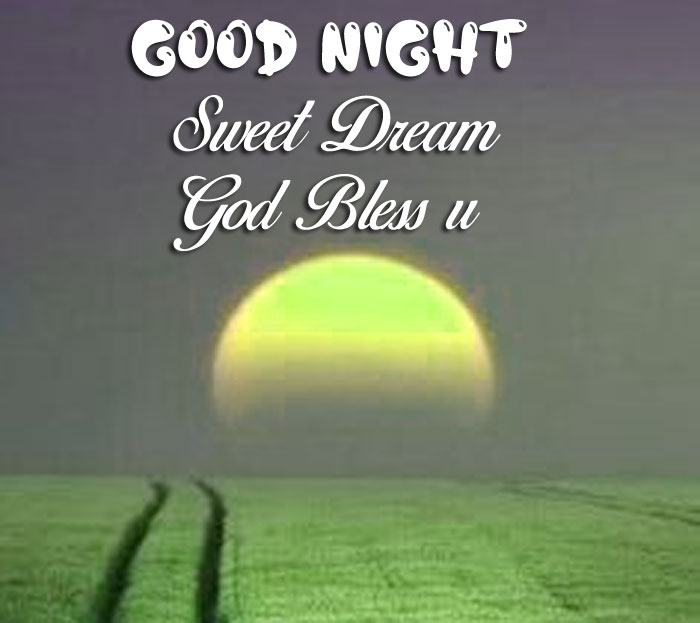 yellow moon Good Nihgt Sweet Dream God Bless You images