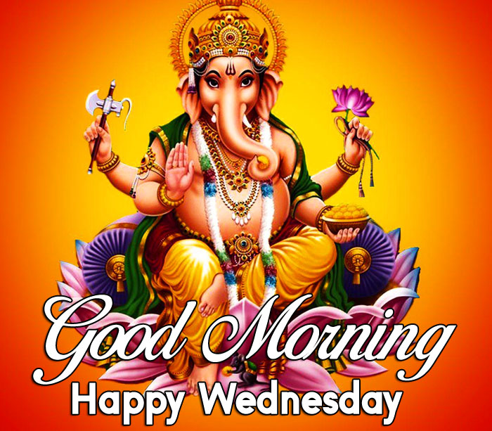 Ganesha Good Morning Happy Wednesday lord images hd