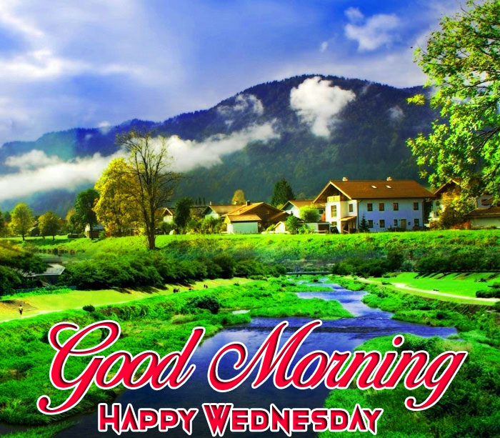 mountain Good Morning Happy Wednesday images hd
