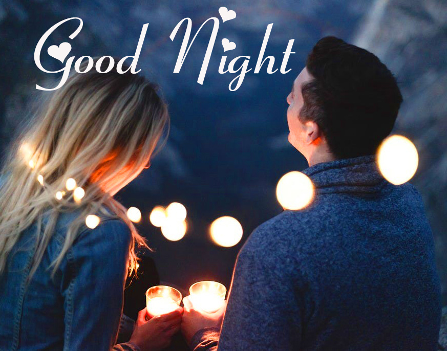 Beautiful Good Night Couple Picture