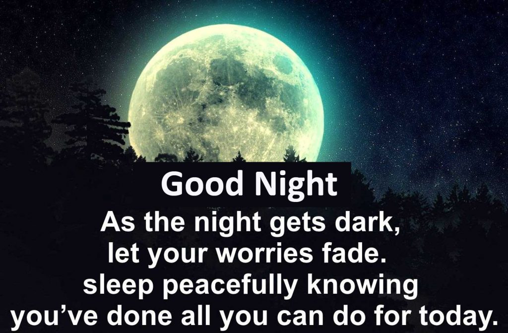 56+ Good Night Image With Quote