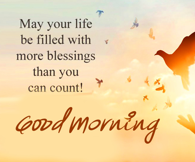 Blessing Thought Good Morning Image