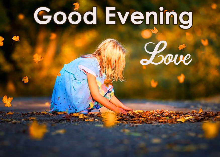 Child Good Evening Love Picture