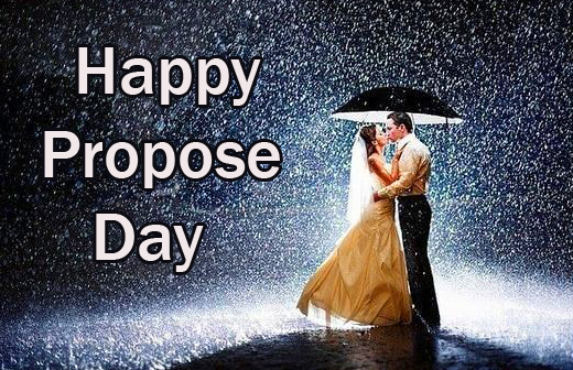 Couple Happy Propose Day Wish Pic