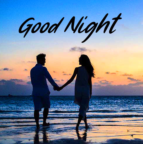 Couple with Good Night Message