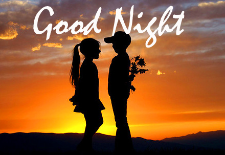 Cute Couple Good Night Photo and Pic