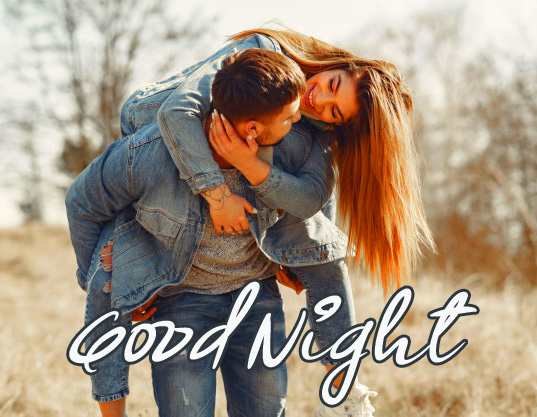 Cute Couple Good Night Picture