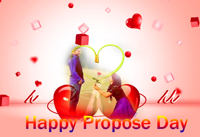 Cute Couple Happy Propose Day Image HD