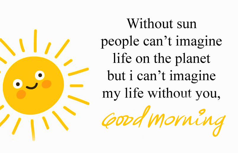 Cute Thought Good Morning Image