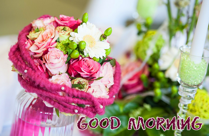 Flowers Good Morning Picture