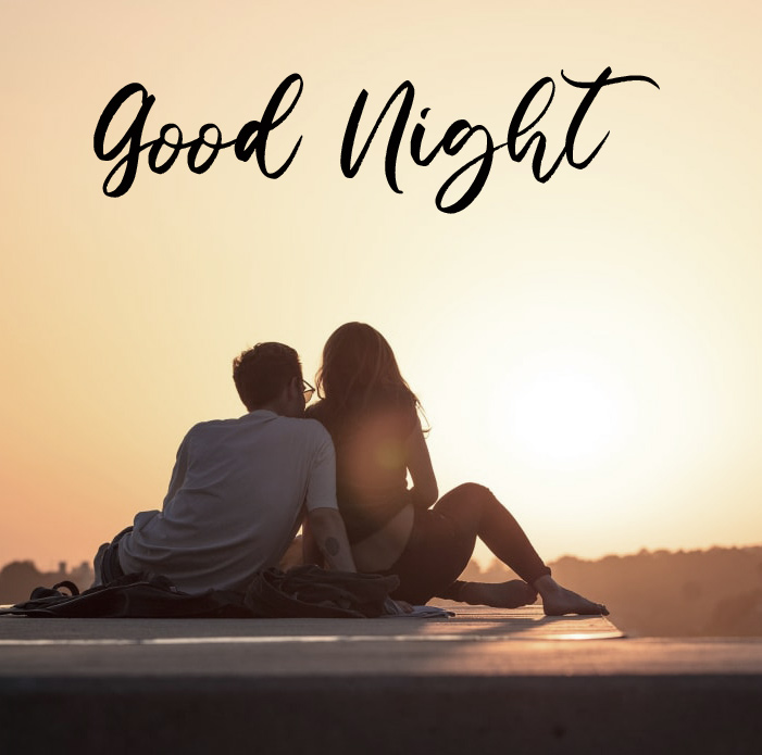 Full HD Couple Good Night Message Pic
