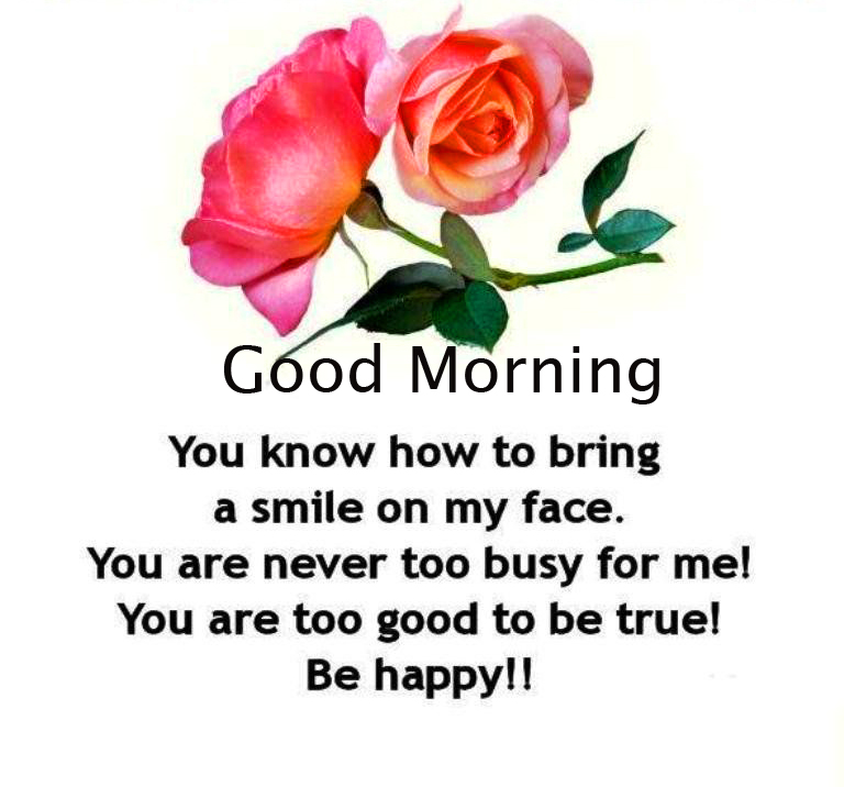 Full HD Flowers with Good Morning Quotes