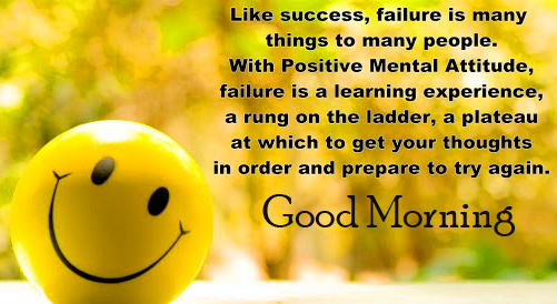 Full HD Smiley Face with Quotes Good Morning Image