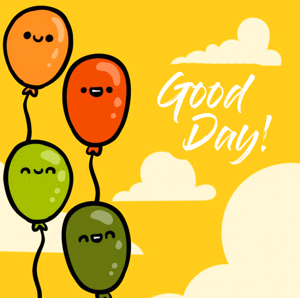 Good Day Ballon Wishes Pic