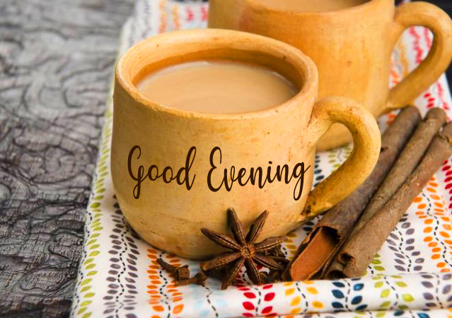 Good Evening with Spiced Tea Picture