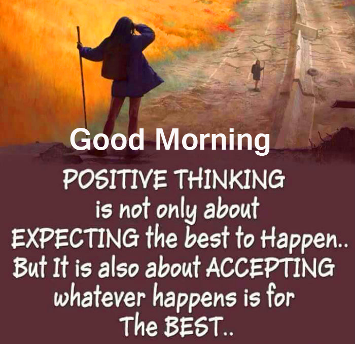 Good Morning Thought Image