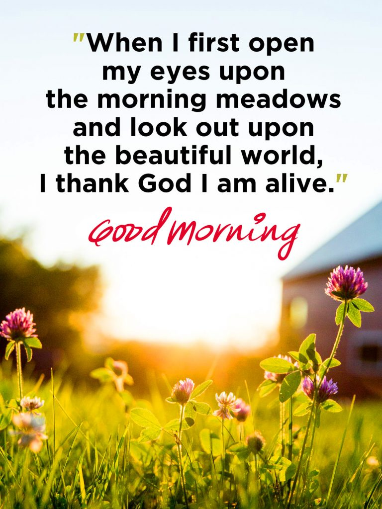 52+ Good Morning Image With Thought (Latest pics)