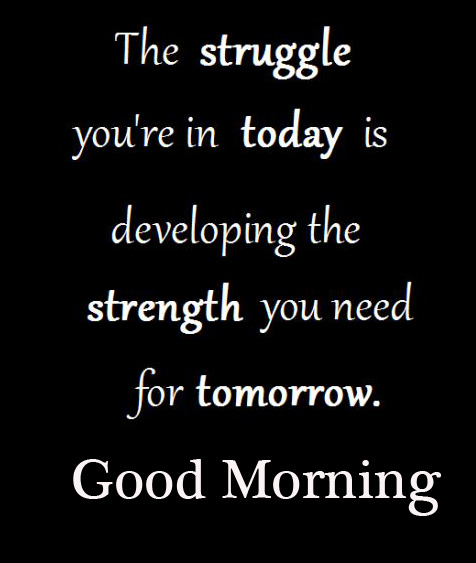 Good Morning Wish with Beautiful Motivational Quotes Wallpaper