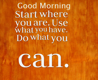 Good Morning Wish with Lovely English Quotes