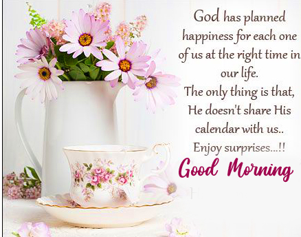 Good Morning Wish with Quotes Full HD